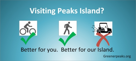 Peaks Island banner